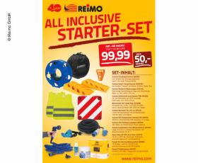 All inclusive starter set at the best price!