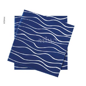 Napkins, navy, 165x165mm, 20 pieces
