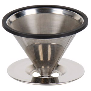 Stainless steel coffee filter for 2 cups