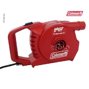 Camping Air Pump, QuickPump 230V, red, 49mbar
