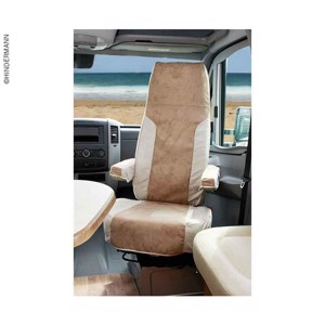 2-piece slipcover (ISRI) for Ducato (2007/2014), beige/sand