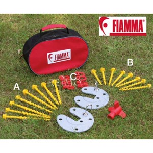 Fiamma Ground Nail System Kit Awning Pegs, 27 pieces