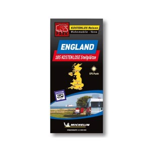 Michelin parking map England - free parking