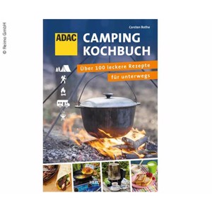 ADAC Camping cookbook, 192 pages, over 100 recipes