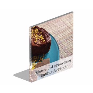 Gluten- and lactose-free outdoor baking book, 18 x 20 cm