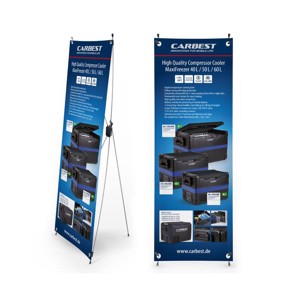 Carbest X-Banner - Motive: Heavy Duty Coolboxes