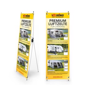 Reimo Tent Techn. X-Banner air tent for caravans, size: 600x1800mm