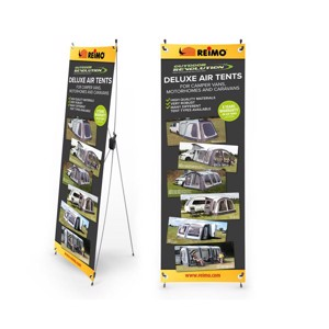 X-Banner Outdoor Revolution Tents EN, Size: 600x1800mm