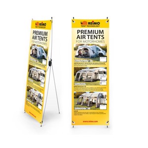 RTent Techn. X-Banner tents for motorhomes, English, size: 600x1800mm