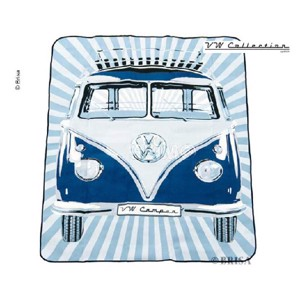 VW collection 'Bulli' picnic blanket, 2x1,5m water-repellent reverse side