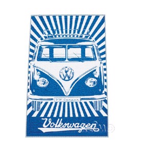 VWColl.beach towel blue