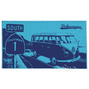 VWCol.beach towel hblau/db