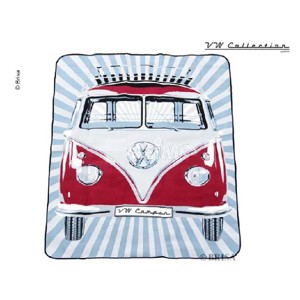 VW collection 'Bulli' picnic blanket, 2x1,5m water repellent reverse side