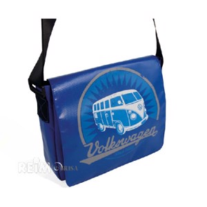 VW collection shoulder bag 'Bulli' made of truck tarpaulin, 28x23x7cm