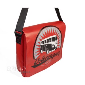 VW collection shoulder bag 'Bulli' made of truck tarpaulin, 33x40x12cm