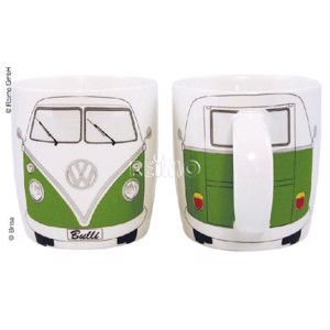 VW collection coffee cup VW Bulli green, filling capacity 400ml