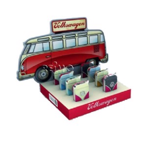 VW Collection Lighters, Display, VW Bulli Front, 8 pieces in 4 colours