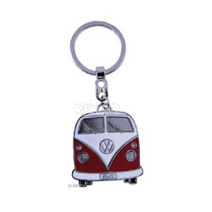 VW Collection Keychain, red Bulli-Front-Design