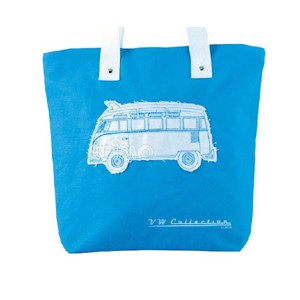 VW Collection Canvas Shopper Bag blau