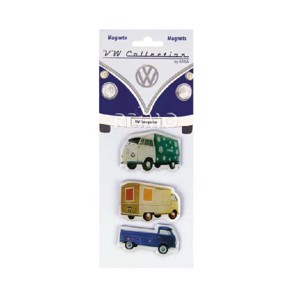 VW Collection Magnets VW Transporter, 3 pcs.