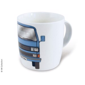 VW Collection Coffee Cup VW T3 Bus Blue Gift Box Capacity 370ml