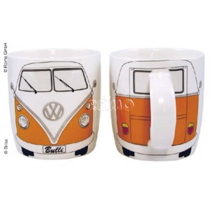 VW collection coffee cup VW Bulli orange, filling capacity 400ml