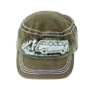 VW Collection Military-Cap, jeans/oliv