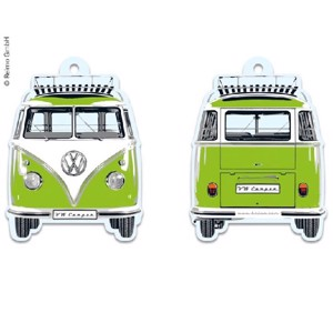 VW Collection Bulli Air Freshener Green Apple, 7x9cm