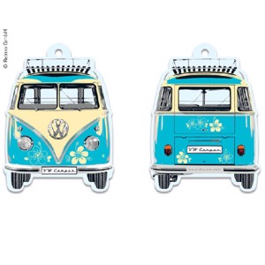 VW Collection Bulli air freshener Pina Colada, 7x9cm