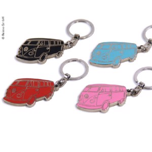 VW Collection Bulli key fob, pink