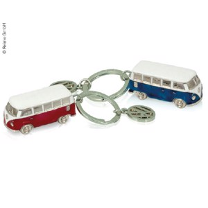 VW Collection Keychain, 3D-Format, blue