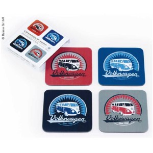 VW Collection coaster, set of 4,
