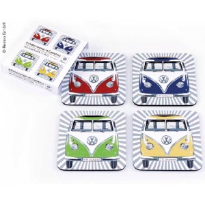 VW Collection Coaster, set of 4, Bulli-Front