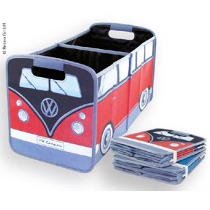 VW Collection Faltbox, red-black, 33x30x5/58cm
