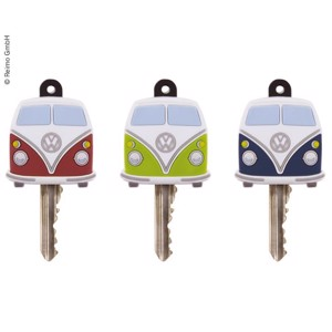 VW Collection key cover, set of 3: red, green, blue