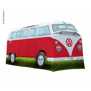 4 Man Tent, Family Tent, VW Collection T1, Red