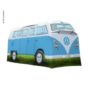 4 Man Tent, Family Tent, VW Collection T1, Blue