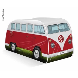 VW Collection Pop-Up Tent VW T1 Red