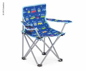 Kids Camping Chair, VW T1 VW Collection, blue