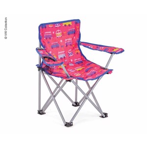 Kids Camping Chair, VW T1 VW Collection, pink