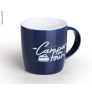 "Cup ""Camper on Tour"" made of high quality New Bone China for 340ml"