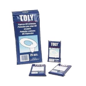 Toly WC paper seats 25pcs