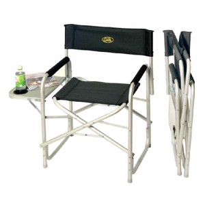 Camping Directors Chair, Maxi de Luxe 2 Camp4, with side table