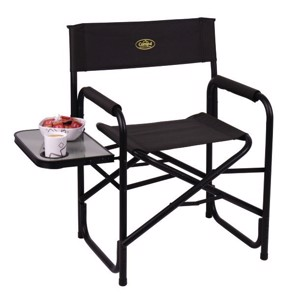 Camping Directors Chair, Maxi de Luxe Camp4, black