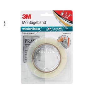 Double-sided power mounting adhesive tape