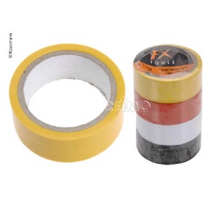 Insulating tape, set of 4, 4m x 19mm