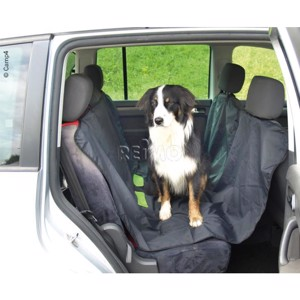 Backseat protection for dogs SNOW 160x135cm