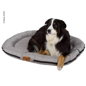 Outdoor Dog Bed HOLIDAY TRAVEL 100x75 cm, Grey