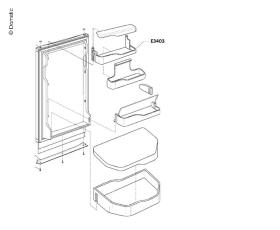 Lid Shelf Door compartment top
