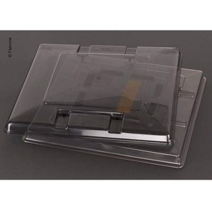 Spare glass roof hood Vent 50x50 crystal